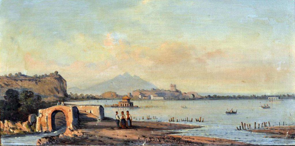 Archille Carelli, il lago Fusaro