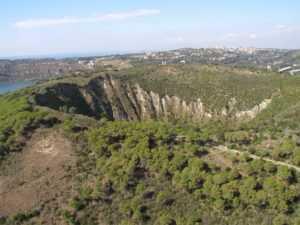 Il cratere del Monte Nuovo
