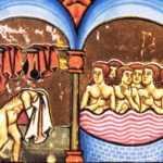 Petrus_de_Ebulo_balneis puteolanis-_Balneum_Tripergulae 1474s