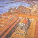 Il Capitolium del Rione, disegno J.C. Golvin