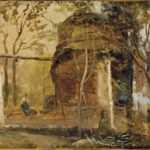 mausoleo di san vito, johan christian dahl 1820
