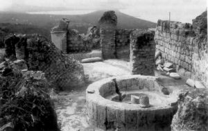 Il battistero sull'Acropoli di Cuma