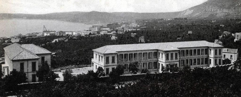 Il Tubercolosario SMOM in una foto d'epoca