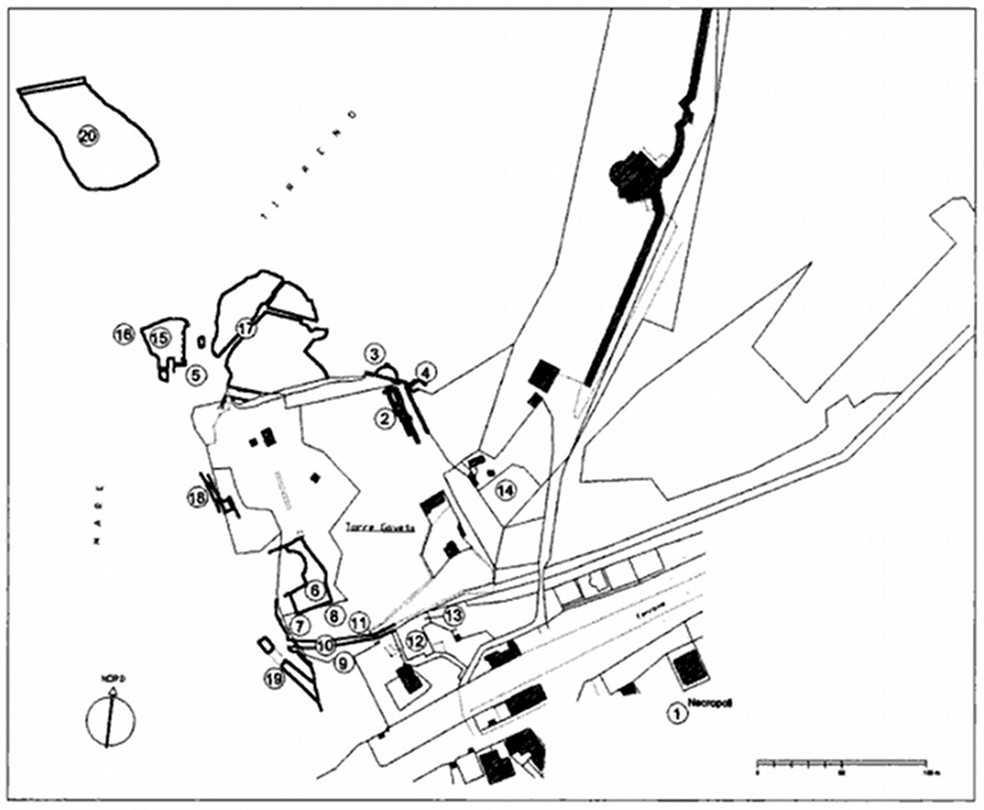 planimetria villa vatia
